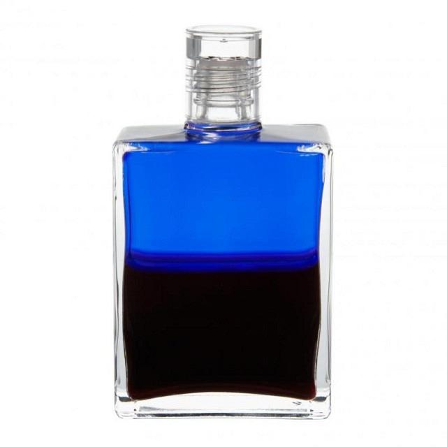 B1 Blau/Tiefmagenta Körperliches Notfallöl