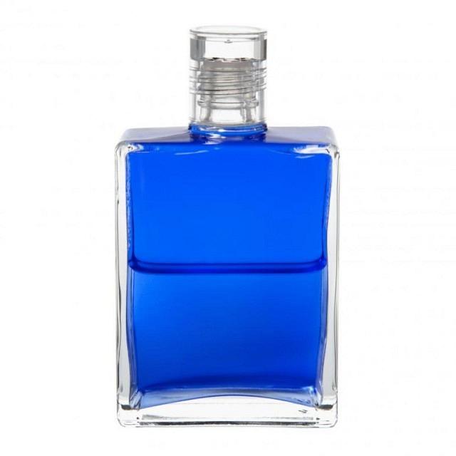 B2 Blau/Blau Friedensflasche