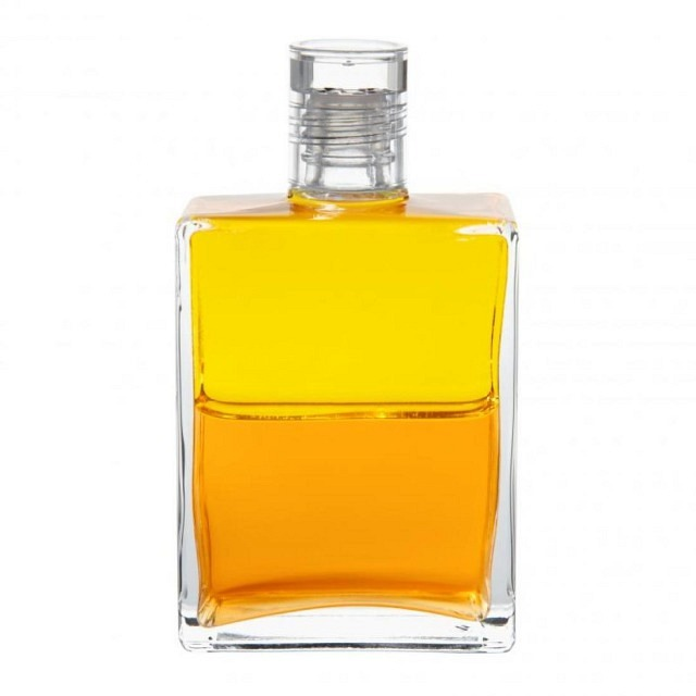B4 Gelb/Gold Sonnenlichtflasche