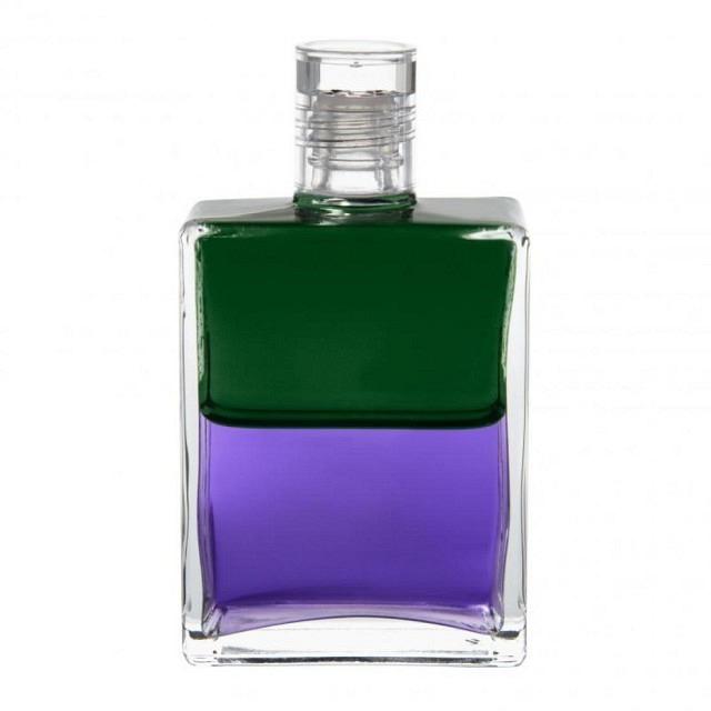 B17 Grün/Violett Troubadur Flasche I (Hoffnung)