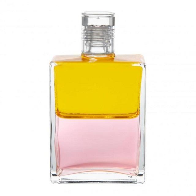 B22 Gelb/Rosa Rebirtherflasche/ Erwachen