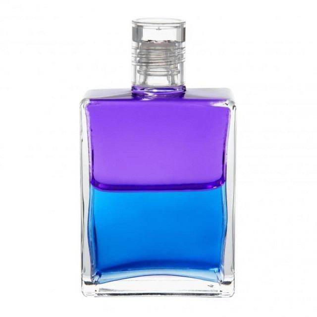 B37 Violett/Blau Der Schutzengel kommt zur Erde