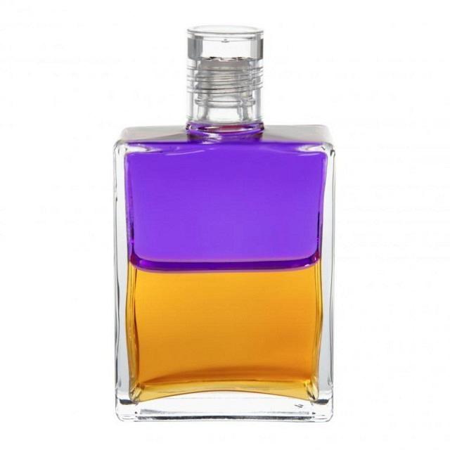 B39 Violett/Gold Ägypter-Flasche II (Der Puppenspieler)