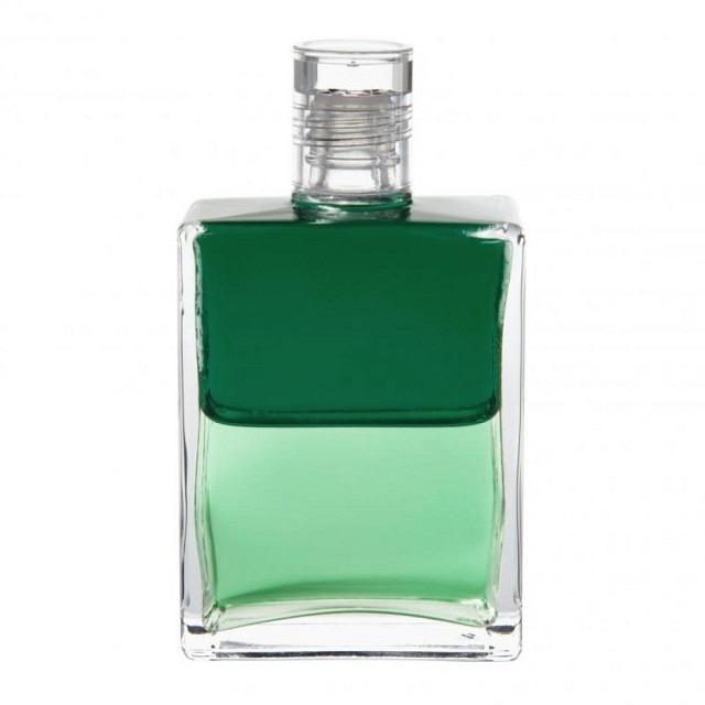 B63 Smaragdgrün/Hellgrün Djwal Kuhl und Hilarion