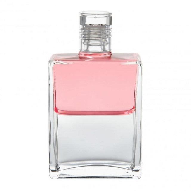 B71 Pink/Klar Essener Flasche II (Juwel im Lotus)
