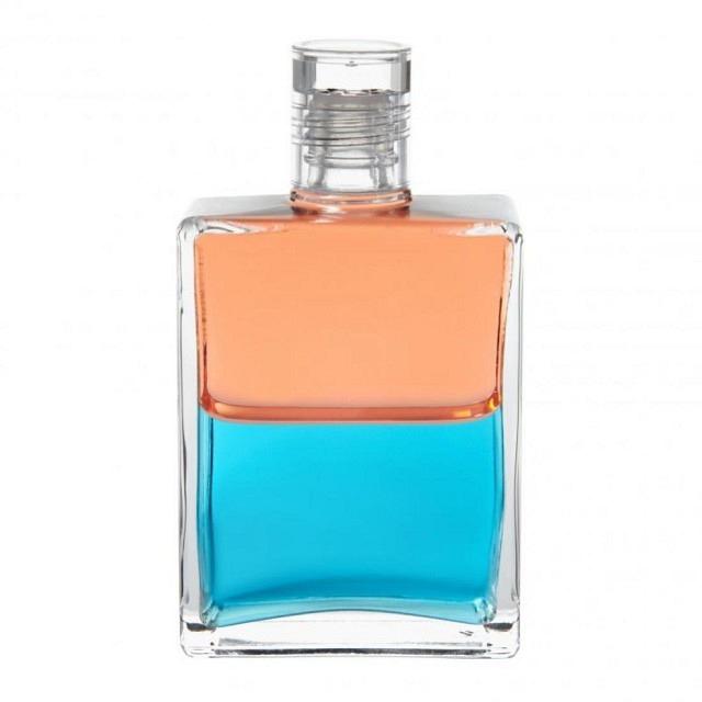 B93 Koralle/Türkis Hänsel-Flasche