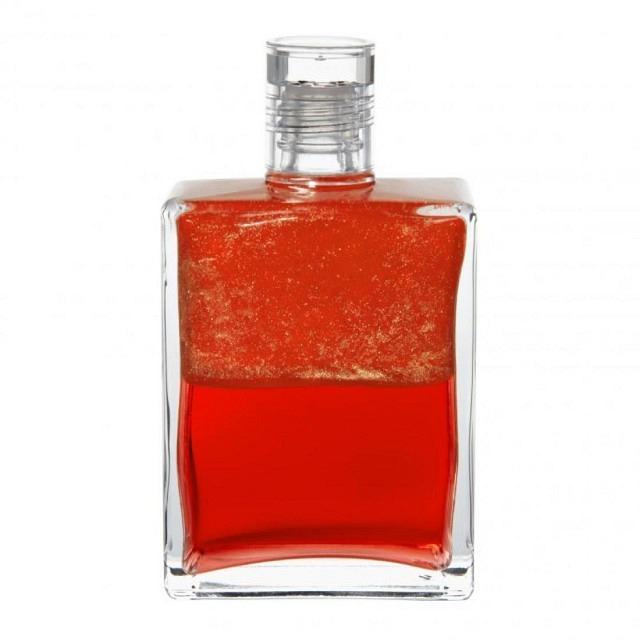 B105 Erzengel Azreal - Irisierendes Koralle/Koralle