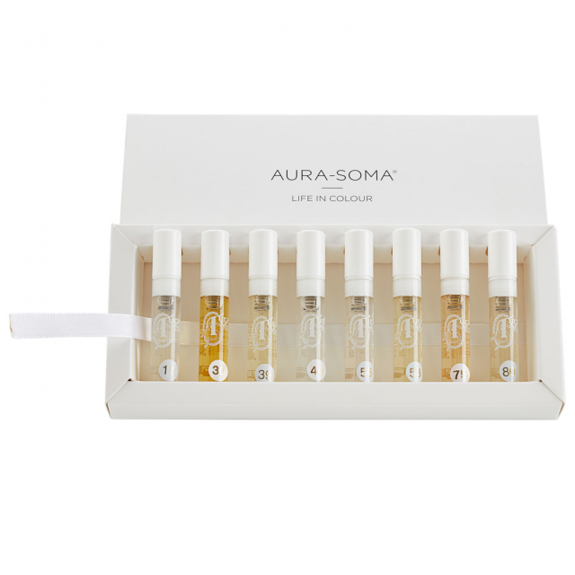 Aura-Soma® Pegasus Parfüm - Tester Kit - 8 x 2.5 ml